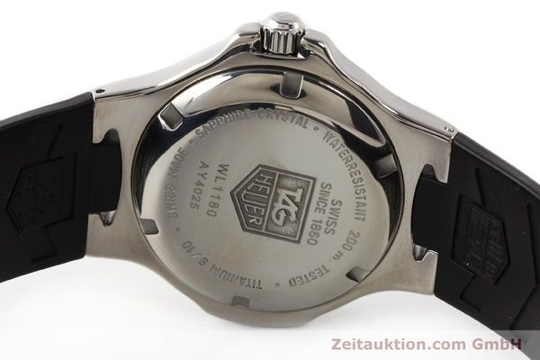 Used luxury watch Tag Heuer Kirium titanium quartz Ref. WL1180  | 140365 09