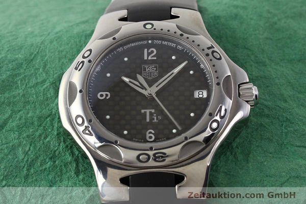 Used luxury watch Tag Heuer Kirium titanium quartz Ref. WL1180  | 140365 16