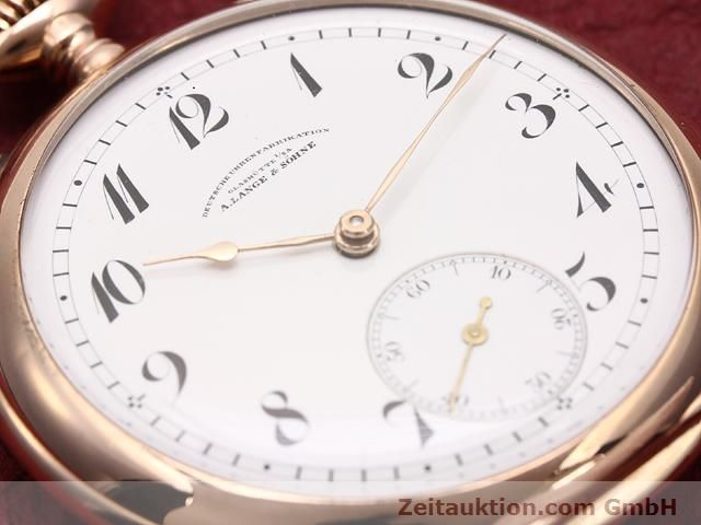 Used luxury watch A. Lange & Söhne ALS Taschenuhr 14 ct red gold manual winding  | 140370 02