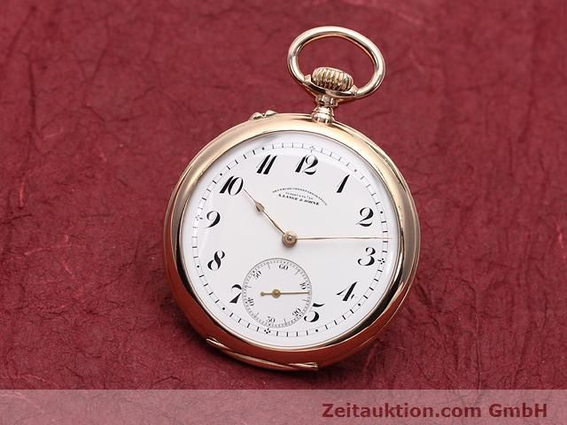Used luxury watch A. Lange & Söhne ALS Taschenuhr 14 ct red gold manual winding  | 140370 04