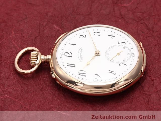 Used luxury watch A. Lange & Söhne ALS Taschenuhr 14 ct red gold manual winding  | 140370 05
