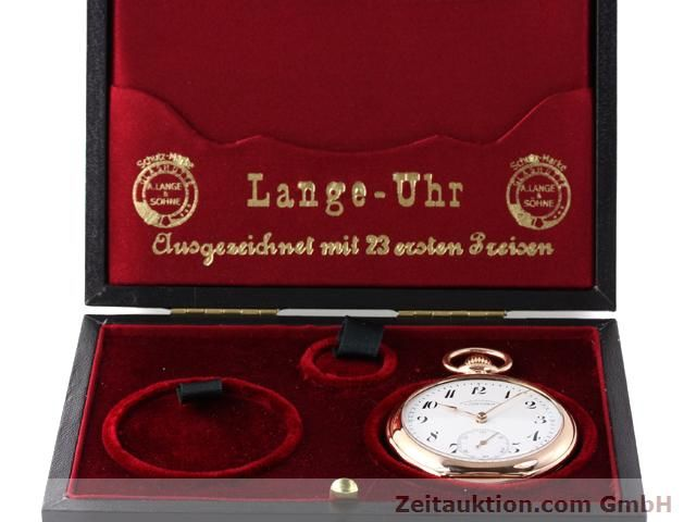 Used luxury watch A. Lange & Söhne ALS Taschenuhr 14 ct red gold manual winding  | 140370 07