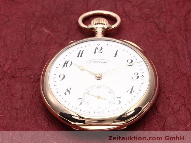 Used luxury watch A. Lange & Söhne ALS Taschenuhr 14 ct red gold manual winding  | 140370 17