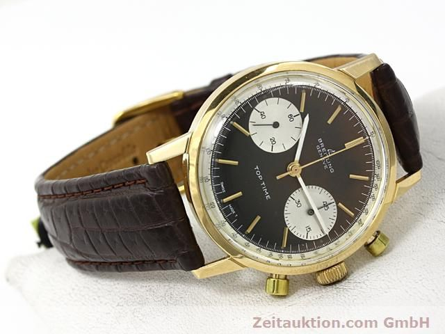 montre de luxe d occasion Breitling Top Time or 18 ct remontage manuel Kal. Valj 7730  | 140372 03