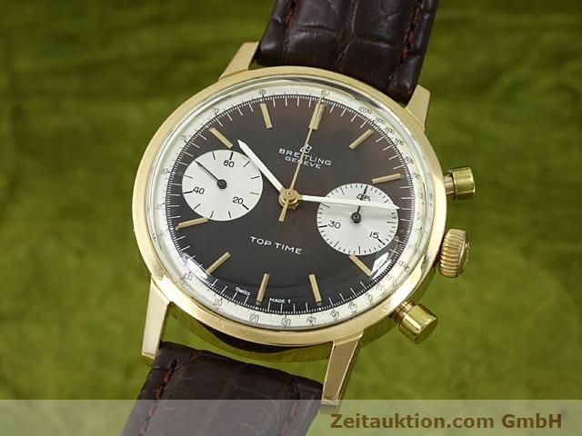 montre de luxe d occasion Breitling Top Time or 18 ct remontage manuel Kal. Valj 7730  | 140372 04