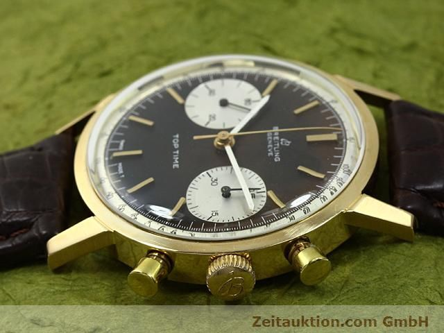 montre de luxe d occasion Breitling Top Time or 18 ct remontage manuel Kal. Valj 7730  | 140372 05
