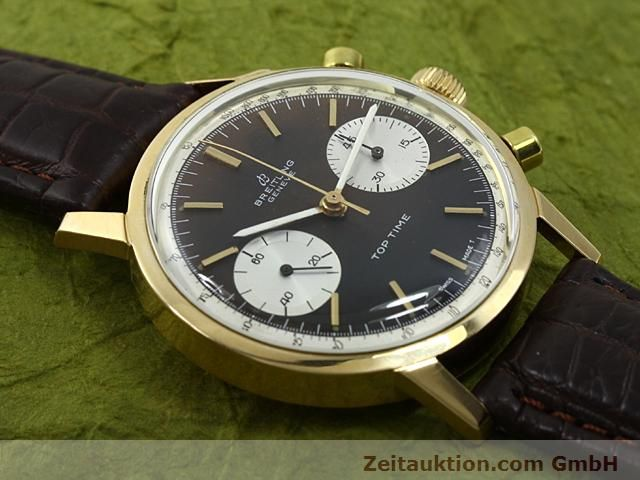 montre de luxe d occasion Breitling Top Time or 18 ct remontage manuel Kal. Valj 7730  | 140372 13
