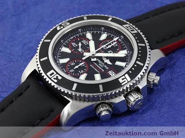 Used luxury watch Breitling Superocean steel automatic Kal. ETA 7750 Ref. A13341  | 140374 01
