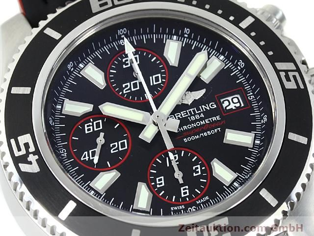 Used luxury watch Breitling Superocean steel automatic Kal. ETA 7750 Ref. A13341  | 140374 02