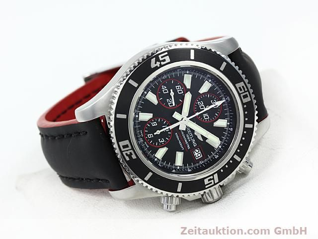 Used luxury watch Breitling Superocean steel automatic Kal. ETA 7750 Ref. A13341  | 140374 03