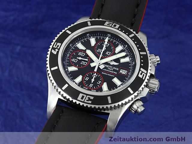 Used luxury watch Breitling Superocean steel automatic Kal. ETA 7750 Ref. A13341  | 140374 04