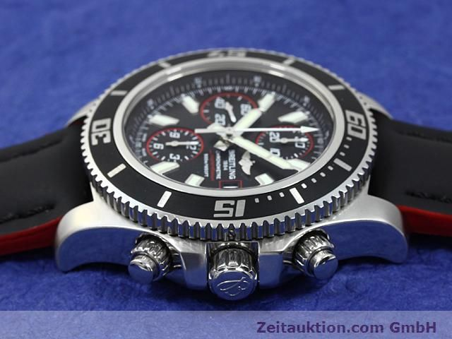 Used luxury watch Breitling Superocean steel automatic Kal. ETA 7750 Ref. A13341  | 140374 05