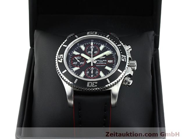 Used luxury watch Breitling Superocean steel automatic Kal. ETA 7750 Ref. A13341  | 140374 07