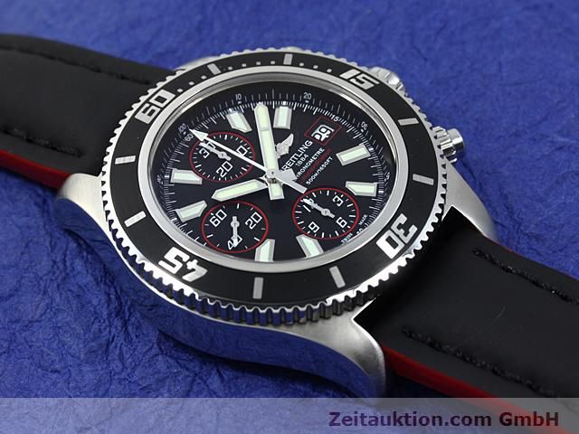 Used luxury watch Breitling Superocean steel automatic Kal. ETA 7750 Ref. A13341  | 140374 13