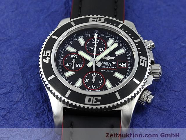 Used luxury watch Breitling Superocean steel automatic Kal. ETA 7750 Ref. A13341  | 140374 14