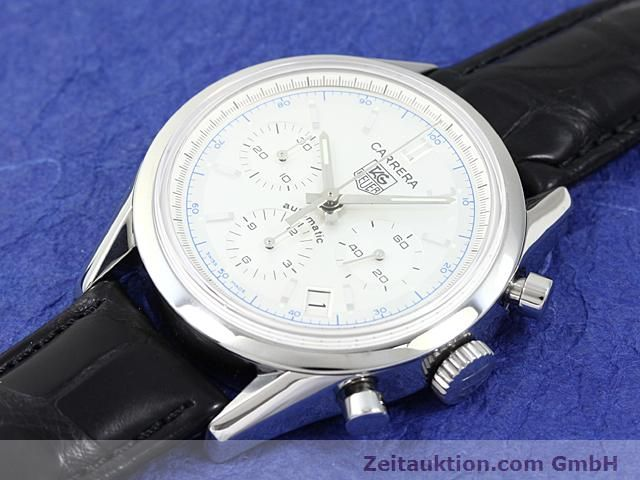Used luxury watch Tag Heuer Carrera steel automatic Ref. CV2110-0  | 140377 01