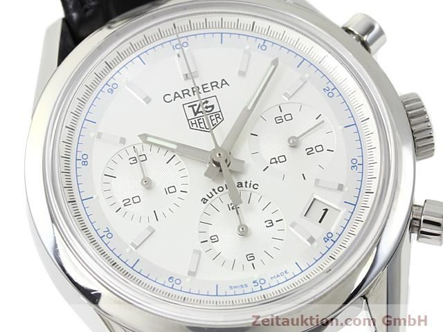 Used luxury watch Tag Heuer Carrera steel automatic Ref. CV2110-0  | 140377 02