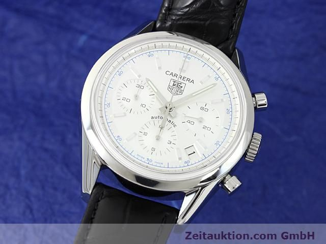 Used luxury watch Tag Heuer Carrera steel automatic Ref. CV2110-0  | 140377 04
