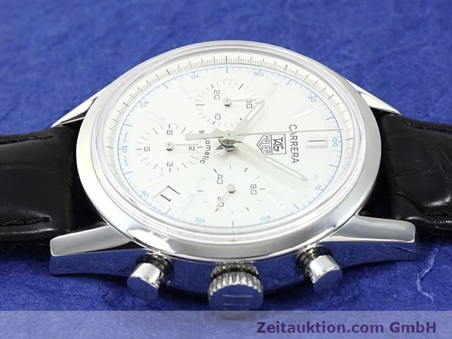 Used luxury watch Tag Heuer Carrera steel automatic Ref. CV2110-0  | 140377 05