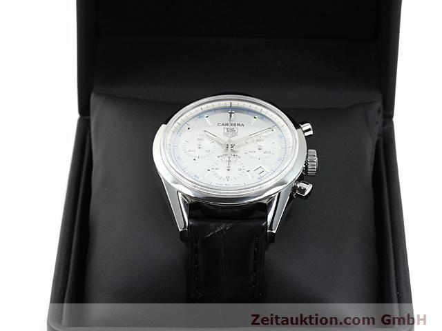 Used luxury watch Tag Heuer Carrera steel automatic Ref. CV2110-0  | 140377 07