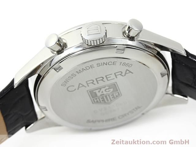 Used luxury watch Tag Heuer Carrera steel automatic Ref. CV2110-0  | 140377 08