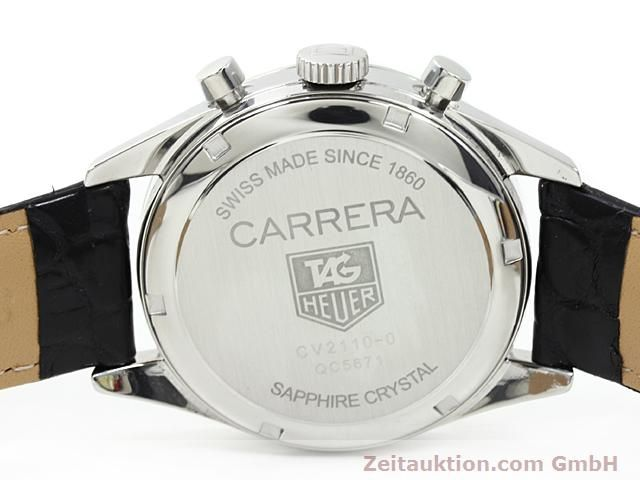 Used luxury watch Tag Heuer Carrera steel automatic Ref. CV2110-0  | 140377 09