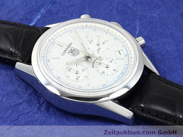 Used luxury watch Tag Heuer Carrera steel automatic Ref. CV2110-0  | 140377 12