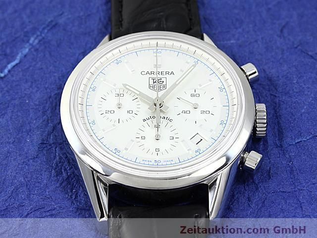 Used luxury watch Tag Heuer Carrera steel automatic Ref. CV2110-0  | 140377 13