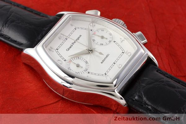 Used luxury watch Girard Perregaux Richeville steel automatic Ref. 2750  | 140378 14