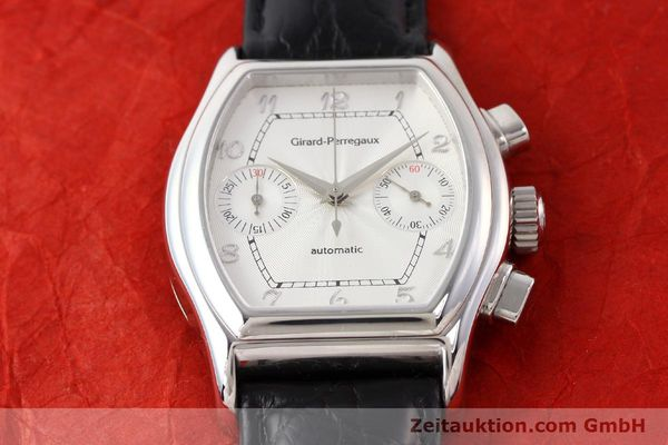 Used luxury watch Girard Perregaux Richeville steel automatic Ref. 2750  | 140378 15