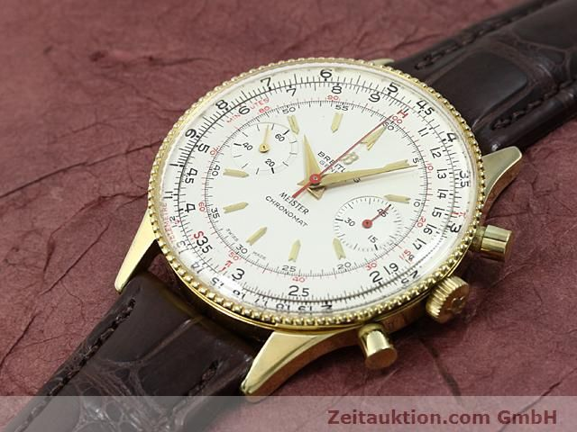 Used luxury watch Breitling Chronomat gold-plated manual winding Kal. Venus 175 Ref. 217012  | 140379 01