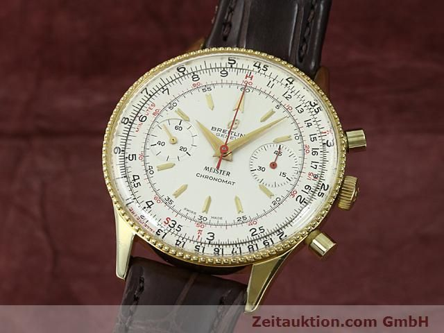 Used luxury watch Breitling Chronomat gold-plated manual winding Kal. Venus 175 Ref. 217012  | 140379 04