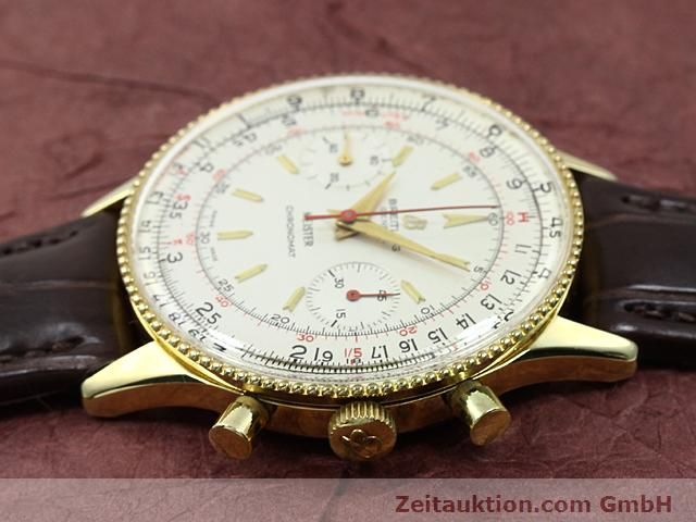 Used luxury watch Breitling Chronomat gold-plated manual winding Kal. Venus 175 Ref. 217012  | 140379 05