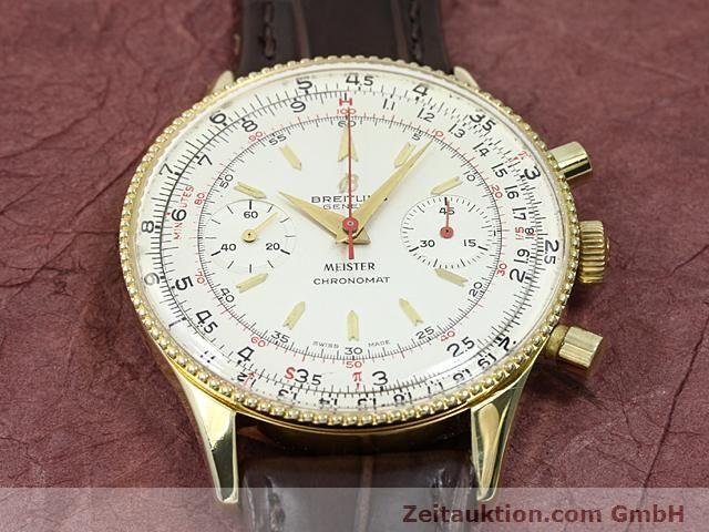Used luxury watch Breitling Chronomat gold-plated manual winding Kal. Venus 175 Ref. 217012  | 140379 13