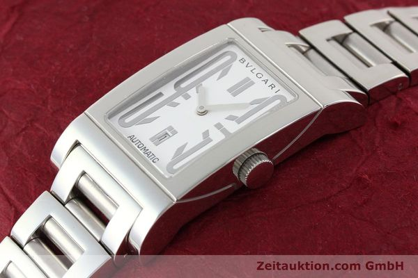 Used luxury watch Bvlgari Rettangolo steel automatic Kal. 180-TEEM Ref. RT45S  | 140381 01