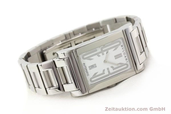 Used luxury watch Bvlgari Rettangolo steel automatic Kal. 180-TEEM Ref. RT45S  | 140381 03