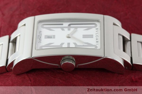 Used luxury watch Bvlgari Rettangolo steel automatic Kal. 180-TEEM Ref. RT45S  | 140381 05