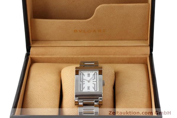 Used luxury watch Bvlgari Rettangolo steel automatic Kal. 180-TEEM Ref. RT45S  | 140381 07