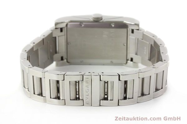 Used luxury watch Bvlgari Rettangolo steel automatic Kal. 180-TEEM Ref. RT45S  | 140381 12
