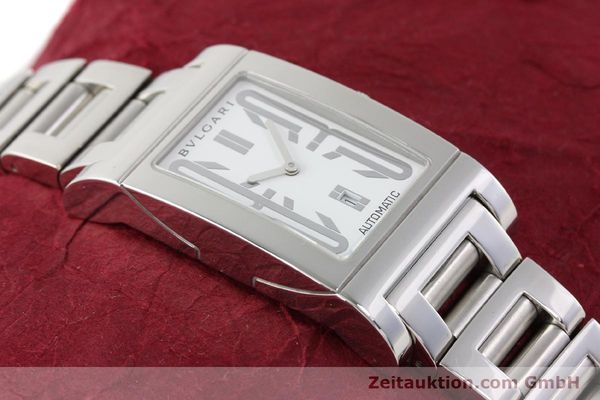 Used luxury watch Bvlgari Rettangolo steel automatic Kal. 180-TEEM Ref. RT45S  | 140381 15
