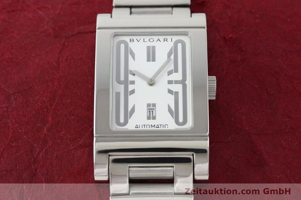 Used luxury watch Bvlgari Rettangolo steel automatic Kal. 180-TEEM Ref. RT45S  | 140381 16