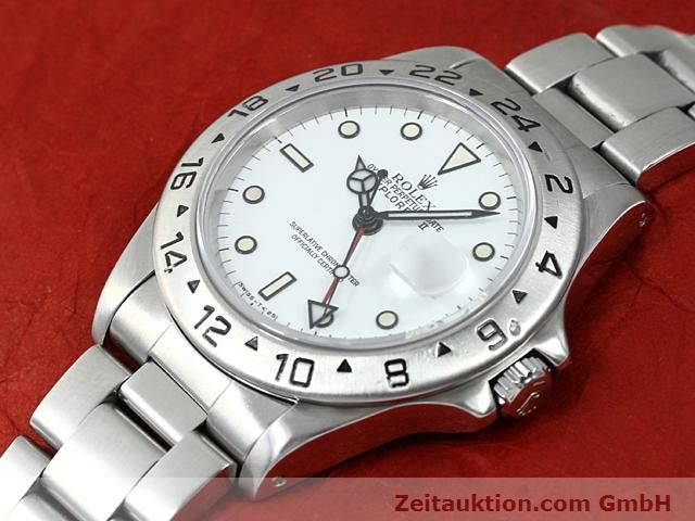 Used luxury watch Rolex Explorer steel automatic Kal. 3185 Ref. 16570  | 140384 01