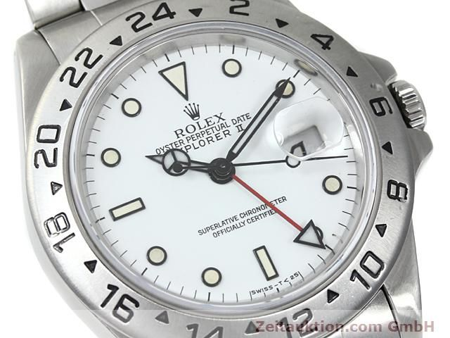 Used luxury watch Rolex Explorer steel automatic Kal. 3185 Ref. 16570  | 140384 02