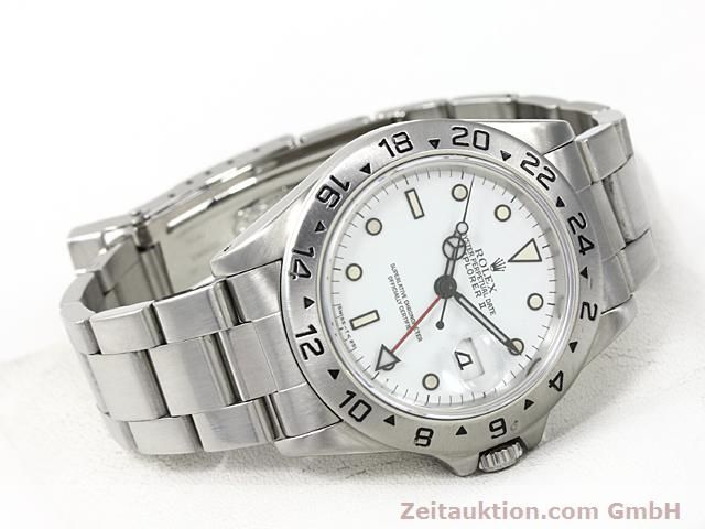 Used luxury watch Rolex Explorer steel automatic Kal. 3185 Ref. 16570  | 140384 03