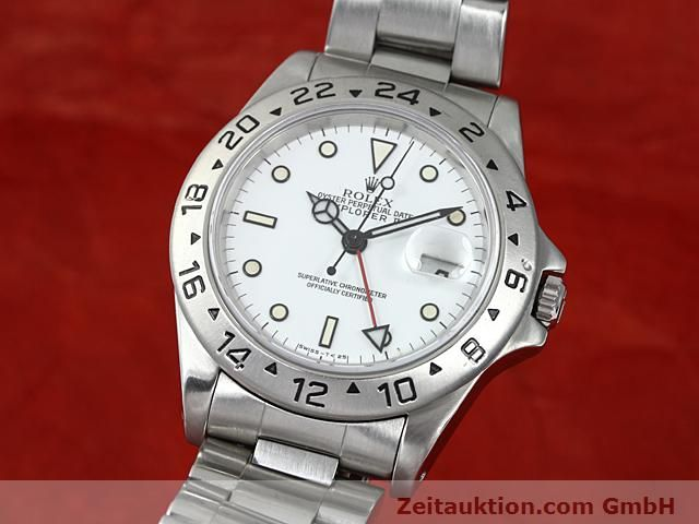Used luxury watch Rolex Explorer steel automatic Kal. 3185 Ref. 16570  | 140384 04