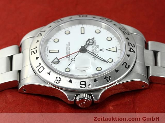 Used luxury watch Rolex Explorer steel automatic Kal. 3185 Ref. 16570  | 140384 05