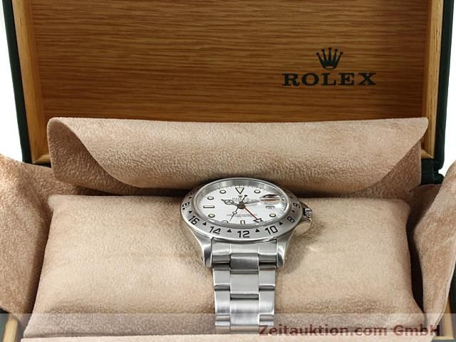 Used luxury watch Rolex Explorer steel automatic Kal. 3185 Ref. 16570  | 140384 07