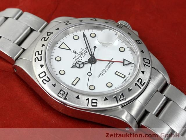 Used luxury watch Rolex Explorer steel automatic Kal. 3185 Ref. 16570  | 140384 13