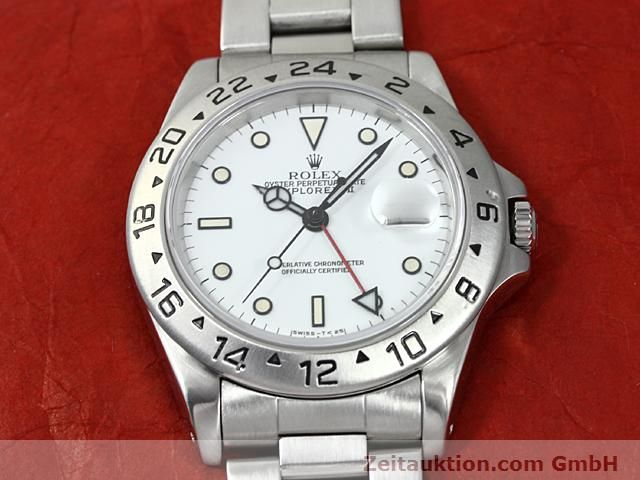 Used luxury watch Rolex Explorer steel automatic Kal. 3185 Ref. 16570  | 140384 14