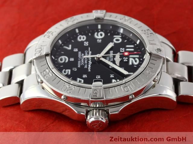 Used luxury watch Breitling Superocean steel automatic Kal. ETA 2824-2 Ref. A17360  | 140385 05